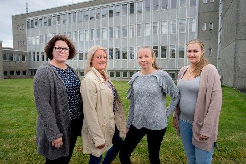 Sykepleiere mot Sykehuset: Ann Christin Skrøder , Agnethe Karlsen, Elin Johannessen, Maria Vågsholm