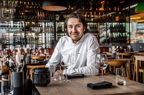 Rodrigo Belda hos Delicatessen håper at 2021 kan bli det første året med overskudd siden restaurantkjeden etablerte seg i Fredrikstad.