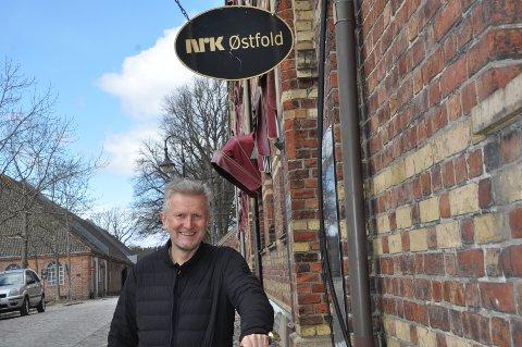 VETERAN: HC Andersen har lang fartstid i NRK. Som bosatt på Kråkerøy er ikke veien lang til kontoret i Gamlebyen.