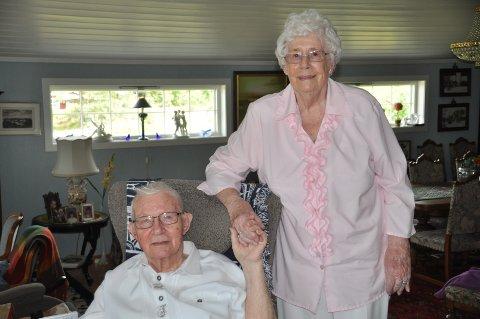 FEIRING: Eva og Svein E. Jansverk har holdt sammen i tykt og tynt i 70 år.