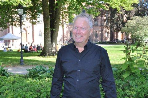 MÅLBEVISST: - Jeg ønsker at det skal være retning på det jeg gjør, mot Gud og mennesker, sier Andreas Vassal.