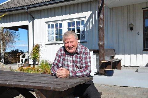 SPREK FOR ALDEREN: - Jeg er takknemlig for god helse, men hørselen er ikke så god, sier Harald Weel.