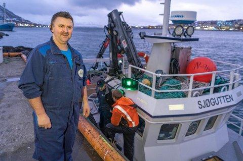 SATSING BETALTE SEG: Karl Alberth Hansen kan glede seg over resultat «over all forventning» for Karls fisk og skalldyr i 2020. Det betalte seg, både med utbytte til seg selv og to bonuser til de ansatte.