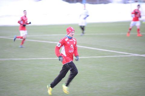 Espen Nilsen er blant spillerne som starter bortekampen for Mjølner i kveld onsdag. Arkivfoto.
