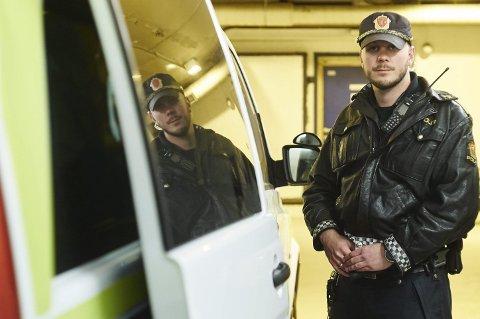 Narksjefen: Politiførstebetjent Nikolai Fiskergård er leder for Narkteamet ved Narvik Politistasjon. Foto: Kristoffer Klem Bergersen