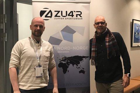 Egentlig skulle Kenneth Jensvold Markussen og Christen Eide Hermansen i Zu4r åpnet lokale lørdag. Men mange nye oppdrag ble prioritert.