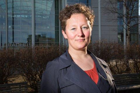 STØTTER NARVIK: Ordfører i Tromsø, Kristin Røymo, sier både hun og flertallet i formannskapet er positiv til VM-søknaden. Foto: Nordlys