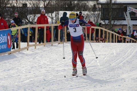 Mathias Holmer fikk æren av å starte festen, og gikk til en 4.plass, beste lokale plassering.