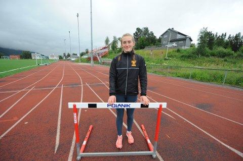Thale Augensen fra Narvik IL er medaljekort under UM i friidrett i helgen.