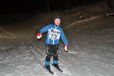 Ludvik Steen Jørgensen deltok i Kobberstadløypa i Narvik.