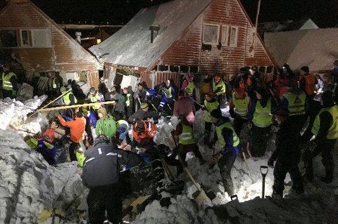 VOLDSOMT: Det var et massivt snøskred 19. desember 2015. Arkivfoto.