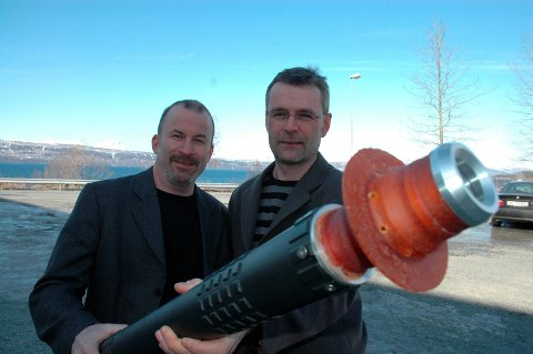 VANSKELIGE TIDER: For Ketil Botnmark og Kjell Mikalsen førte nedturen i oljebransjen til at selskapet deres 2K Tools ble slått konkurs. Arkivfoto: Terje Næsje