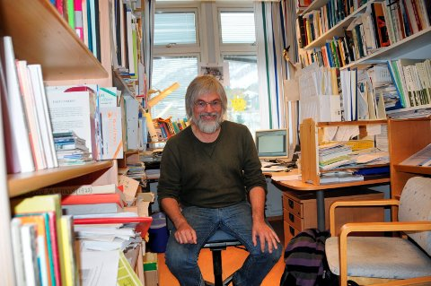 Jan Åge Riseth, leder i Palestinakomiteen. Arkivfoto: Per-Helge Berg.
