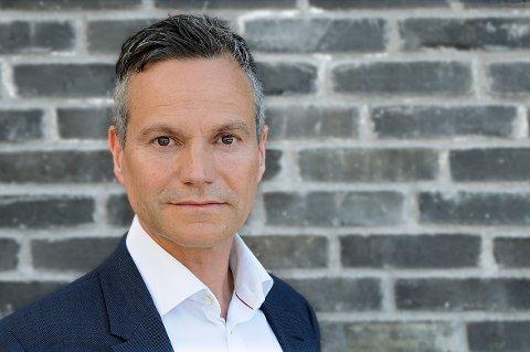Administrerende direktør i Nordkraft Eirik frantzen er hovedtaler på 17.mai.