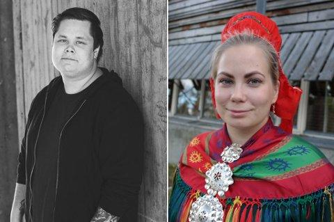 Stian Pedersen (25) overtar jobben som daglig leder/festivalprodusent Márkomeannu og Aili Guttorm (27) trer inn i ny 50 prosent stilling som festivalleder for Márkomeannu.