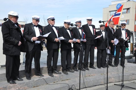 Til Narvik: Alta mannskor, her fra en opptreden i Alta 17. mai 2017, kommer til årets Vinterfestuka.