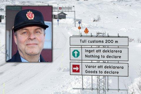 Påminnelse: Før påsketuren over til Sverige, kan det være greit å friske opp reglene for hvor mye man kan ta med seg tilbake. Seksjonssjef Rolf Berget regner med at mange blir å ta turen over grensa i løpet av påskedagene.