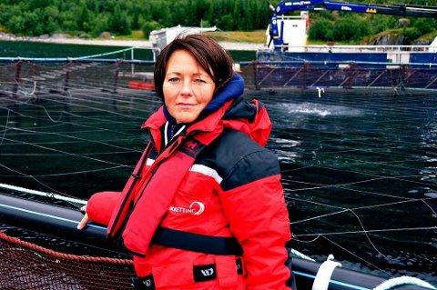 Daglig leder Line Ellingsen ved Ellingsen Seafood AS.
