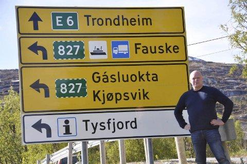 UTROLIG: At Tysfjord egen ordfører går ut som «soloartist» på denne måten, er helt utrolig, skriver Arne H. Hveding.