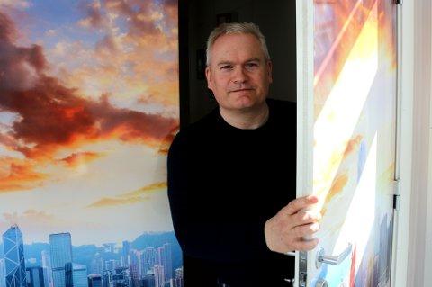 MÅTTE TIDLIG OPP: Hans Johan Tofteng i Avikom forhandlet med Alibaba-toppene i morgengryet i London - og fikk avtale.