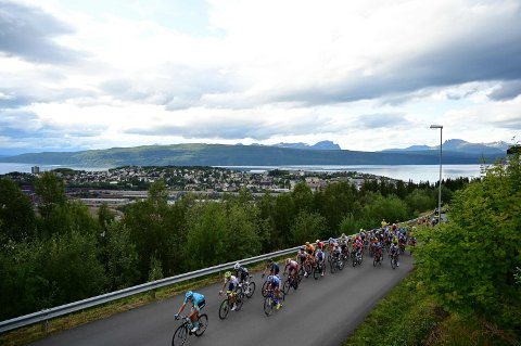 ARCTIC RACE: Torsdag starter årets Arctic Race på sykkel. Narvik har ikke etappe i 2201-utgaven, men det har Gratangen, der den siste innledes.