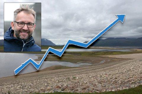 SPÅR STOR ØKNING: Nye regler kan gi økt strømpris, mener Troms Kraft, ved samfunnskontakt Stein-Gunnar Bondevik.