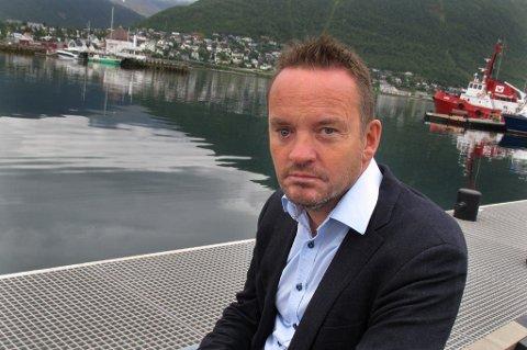 VIL HA JERNBANE: Direktør Geir Ove Ystmark i Sjømat Norge.