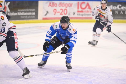 HAR FORLATT: Den canadiske forwarden Dante Salituro har reist fra Narvik.