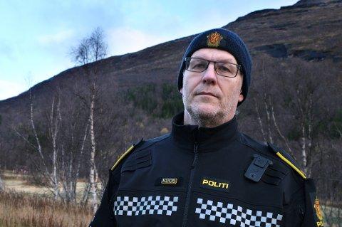 BLE JAGET: Politiførstebetjent Paul-Hugo Edvardsen forteller om episoden som har skremt ham mest i hele sin 30 år lange karriere i politiet.