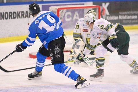 Narvik hockey skal møte Manglerud Star borte i neste uke. Det råder en viss usikkerhet rundt dette møtet etter at en Sparta-spiller testet positivt for covid-19 fredag.