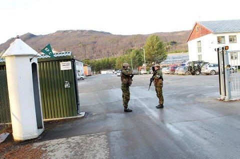 RAMMET: Fredag kveld ble det kjent at også Skjold leir i Målselv kommune er rammet av korona. Mellom 20 og 30 personer er nå i karantene i leiren. Foto: Torbjørn Kjosvold, Forsvaret