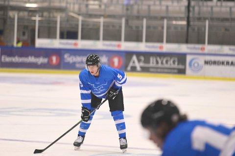 SIGNERTE PÅ NYTT: Niclas Jessesen er klar for ny sesong i Narvik hockey.