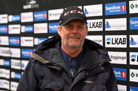 HAR TRUA: Greg Henning Iversen har fortsatt tro på at Artic Eagels kan vinne hockeymatcher