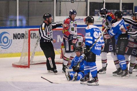 NY MULIGHET: Narvik hockey møter Lillehammer igjen torsdag kveld.