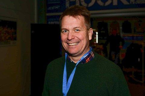 KAN SMILE: Visit Narvik Event, her ved daglig leder Harald Kuraas, skal være prosjektleder for Arctic Kids.