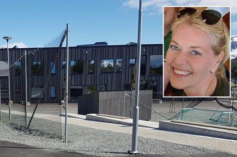 UBEHAGELIG: Dette var en svært beklagelig hendelse, sier rektor Merethe Dalseth ved Sommerlyst skole. Uvedkommende hacket nettundervisningen og kjørte porno i stedet.
