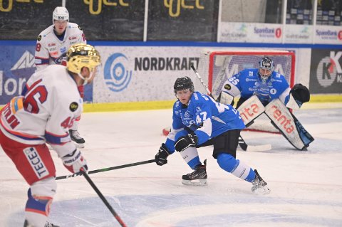 I GET-LIGAEN: Narvik Ishockeyklubb forblir i Get-ligaen.