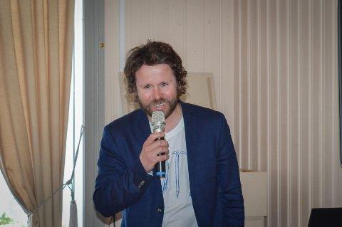 Vegard Stormo er en viktig ressursperson i arbeidet med utdanninga, i følge Nordland fagskole. Bildet er fra ei fagsamling  i Mosjøen i mai i fjor, der han deltok.