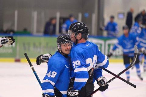 MØTER LILLEHAMMER: Narvik hockey er snart klar for kamp.