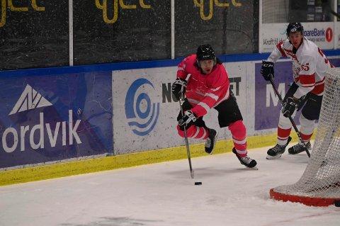 Benjamin Byrkjeland noterte seg for scoring i fredagens overtidseier mot Lillehammer. Lørdag formiddag får han og Narvik hockey nok en mulighet til å senke laget fra OL-byen.