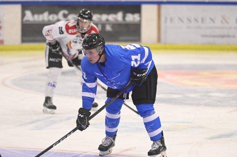 FIKK KONTRAKT: McKullen Astill fikk kontrakt med Narvik hockey etter prøveperiode.