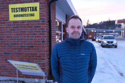 IKKE OVERRASKET: Kommuneoverlege Vidar Bjørnås i Bardu og Målselv forventet tilfeller med det britiske mutantviruset.
