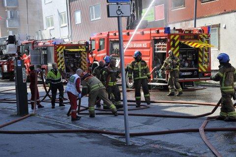 Brann, Kirkegata