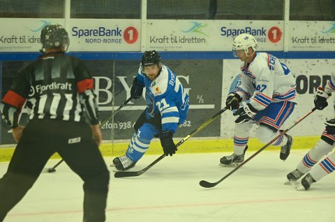 VANT KLART: Johan Ceder og Narvik hockey