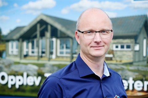 NY ROLLE: Audun Skattebo skal lede hele virksomheten i Tinde Gruppen, etter at gründeren Øyvind Haverstad går over i rollen som arbeidende styreleder.