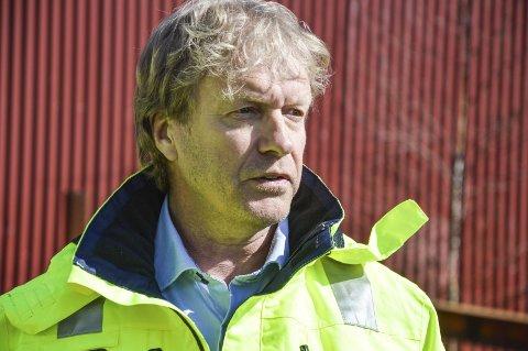 INNTEKT: Havnefogd Espen Eliassen får mye skryt av Smith Stål  for jobben med den nye avtalen i havna.