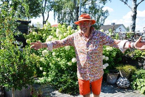 HAR DET BRA: - Vi har flaks, flaks og flaks som bor i Norge. Derfor betaler vi skatten vår og holder kjeft, smiler alltid fornøyde Finn Schjøll.