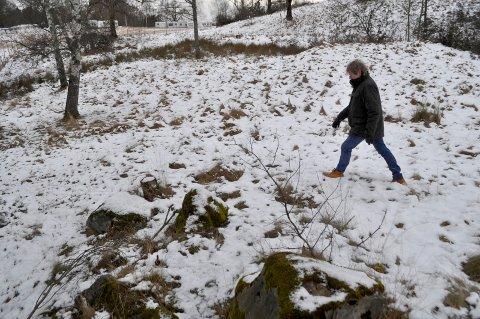 OVN: Arkeologen har registert ti steder det må ha stått ovner.