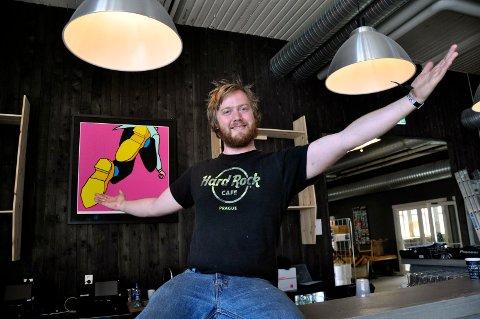 I BAREN: Fredrik Dahle har invitert til idemyldringsmøte.