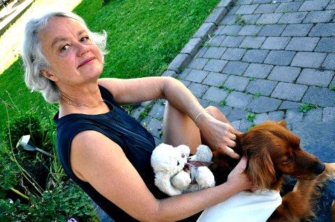 KJENTE SEG IGJEN: Birte Svatun var veldig knyttet til dyr som liten - som høysenstive barn som oftest er.